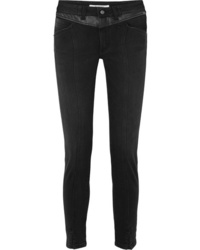 Givenchy Med Mid Rise Straight Leg Jeans