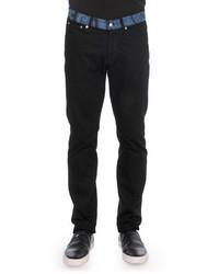 Givenchy Paisley Waist Denim Jeans