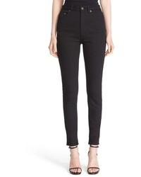Saint Laurent High Rise Skinny Jeans