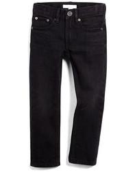 Burberry Skinny Five Pocket Faded Denim Jeans Black Size 4y 14y