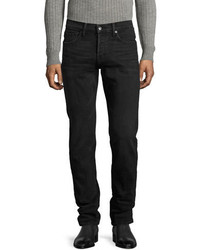 Tom Ford Slim Fit Denim Jeans Worn Black