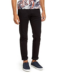 Ted Baker London Straight Fit Black Jeans