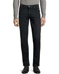Tom Ford Straight Fit Denim Jeans Worn Black