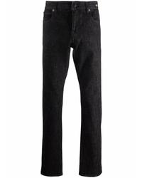 Tagliatore Straight Leg Dark Wash Jeans