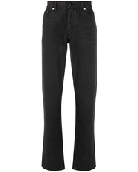 Burberry Straight Leg Distressed Detail Jeans