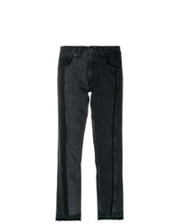 rag & bone/JEAN Two Tone Cropped Jeans