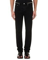 Givenchy Zipper Trimmed Slim Jeans