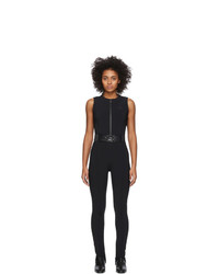 Moncler Grenoble Black Ski Jumpsuit