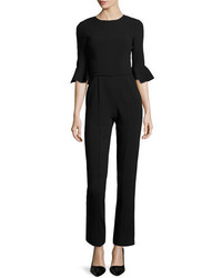 Black Halo Brooklyn 34 Bell Sleeve Jumpsuit