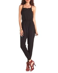 e775a1af3e29 ... Charlotte Russe Chain Strap Overall Jumpsuit