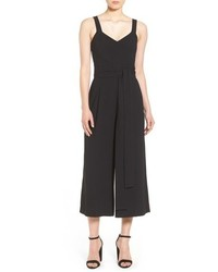 Halogen Crop Wide Leg Jumpsuit