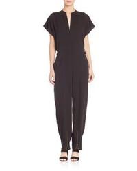 Helmut Lang Dolman Sleeve Silk Jumpsuit