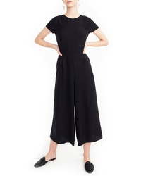 J.Crew Drapey Wrap Back Jumpsuit