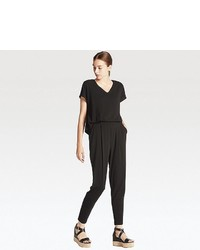 Uniqlo Jersey Short Sleeve Jumpsuit