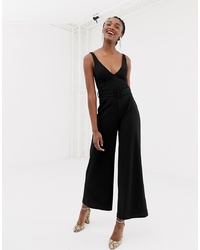 New Look Jumpsuit With Belt In Black