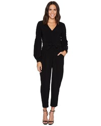 Maggy London Lantern Sleeve Ankle Jumpsuit Jumpsuit Rompers One Piece