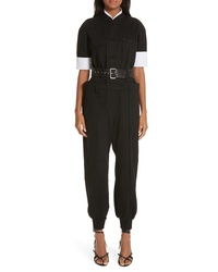 Alexander Wang Layered Utility Jumpsuit