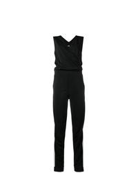 Karl Lagerfeld Logo Stripe Jumpsuit