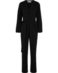 See by Chloe See By Chlo Crepe Jumpsuit Black
