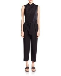 3.1 Phillip Lim Silk Satin Wool Jumpsuit