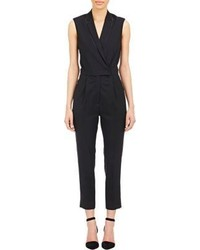 Stella McCartney Sleeveless Tuxedo Jumpsuit