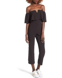 Leith Strapless Off The Shoulder Jumpsuit