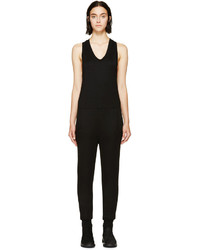 Alexander Wang T By Black French Terry Jumpsuit