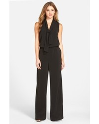 Halogen Tie Neck Jumpsuit