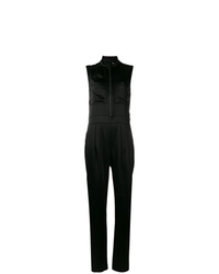 Burberry Zip Front Jumpsuit