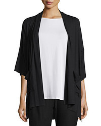 Eileen Fisher 34 Sleeve Kimono Cardigan Plus Size