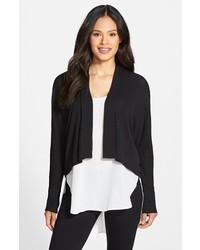 Eileen Fisher Silk Jersey Kimono Cardigan