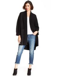 Eileen Fisher Merino Wool Kimono Cardigan