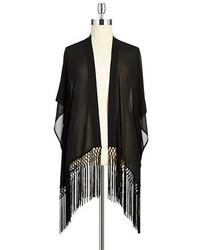 MICHAEL Michael Kors Michl Michl Kors Plus Plus Fringe Kimono