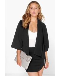 Boohoo Natalie Kimono Sleeve Blazer