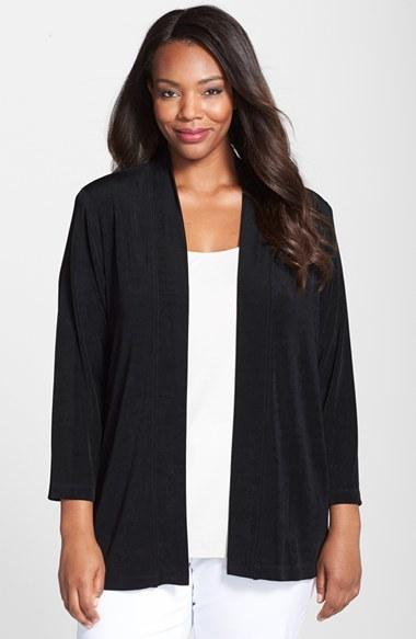 Vikki Vi Plus Size Kimono Cardigan