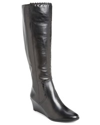 Jack Rogers Mia Knee High Wedge Boot
