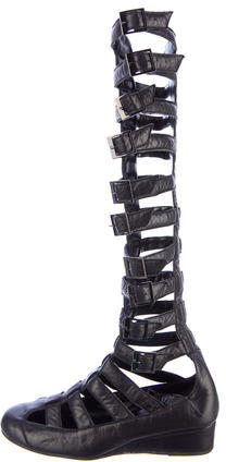3a830ce32ed ... Chanel Gladiator Sandals ...
