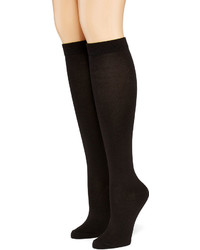 Asstd National Brand Hanes 2 Pk Ultimate Comfortsoft Knee High Socks