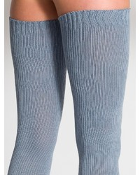 0bbb6bee6 ... American Apparel Cotton Solid Thigh High Socks ...