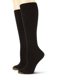 Gold Toe Goldtoe 2 Pk Wool Blend Argyle Knee High Socks