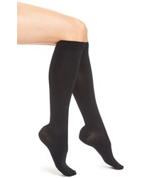 Item M6 Opaque Compression Knee High Socks
