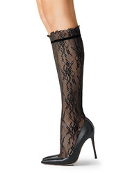 Fogal Lace Knee High Socks