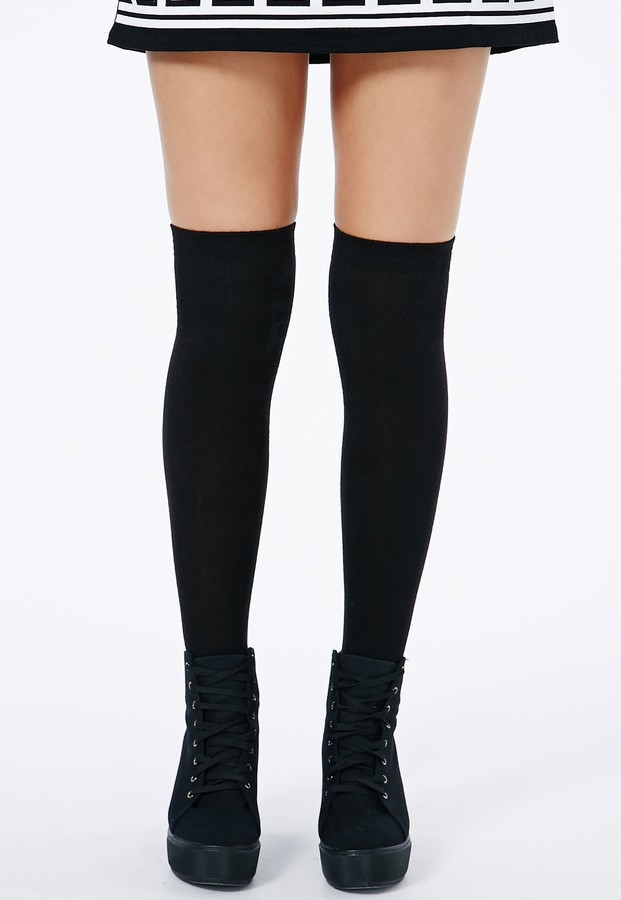 black knee high socks the image kid has it. Black Bedroom Furniture Sets. Home Design Ideas