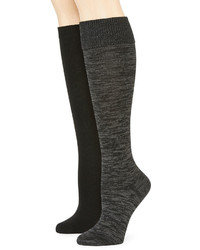 Mixit Mixit 2 Pk Knee High Socks