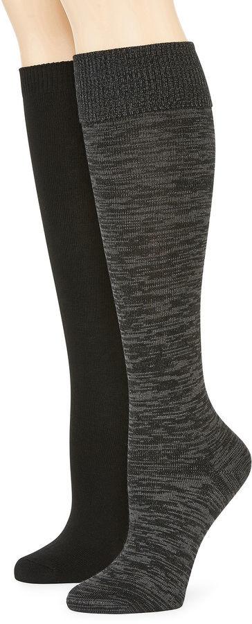a09a2ea140c ... Mixit Mixit 2 Pk Knee High Socks
