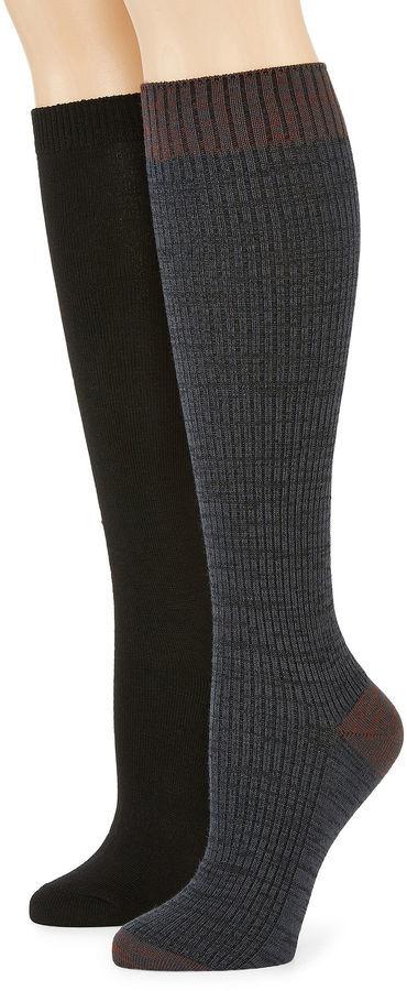 2d63396b676 Mixit Mixit 2 Pk Ribbed Knee High Socks