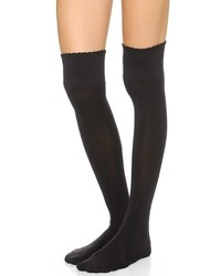 Spanx Over The Knee Scalloped Edge Socks