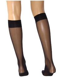 7db9e07393375 Wolford Satin Touch 20 Knee Highs Knee High Socks Shoes, $25 ...