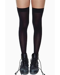 Factory School Girl Thigh High Socks
