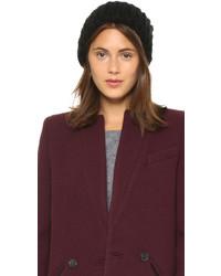 1717 Olive Woven Rib Beanie Hat